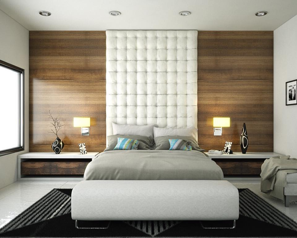 Specular Modern Touch Bedroom Design With Classic Accessories
