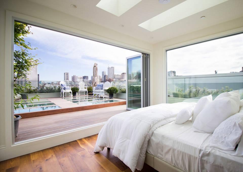 Stunning Interior In Contemporary Bedroom