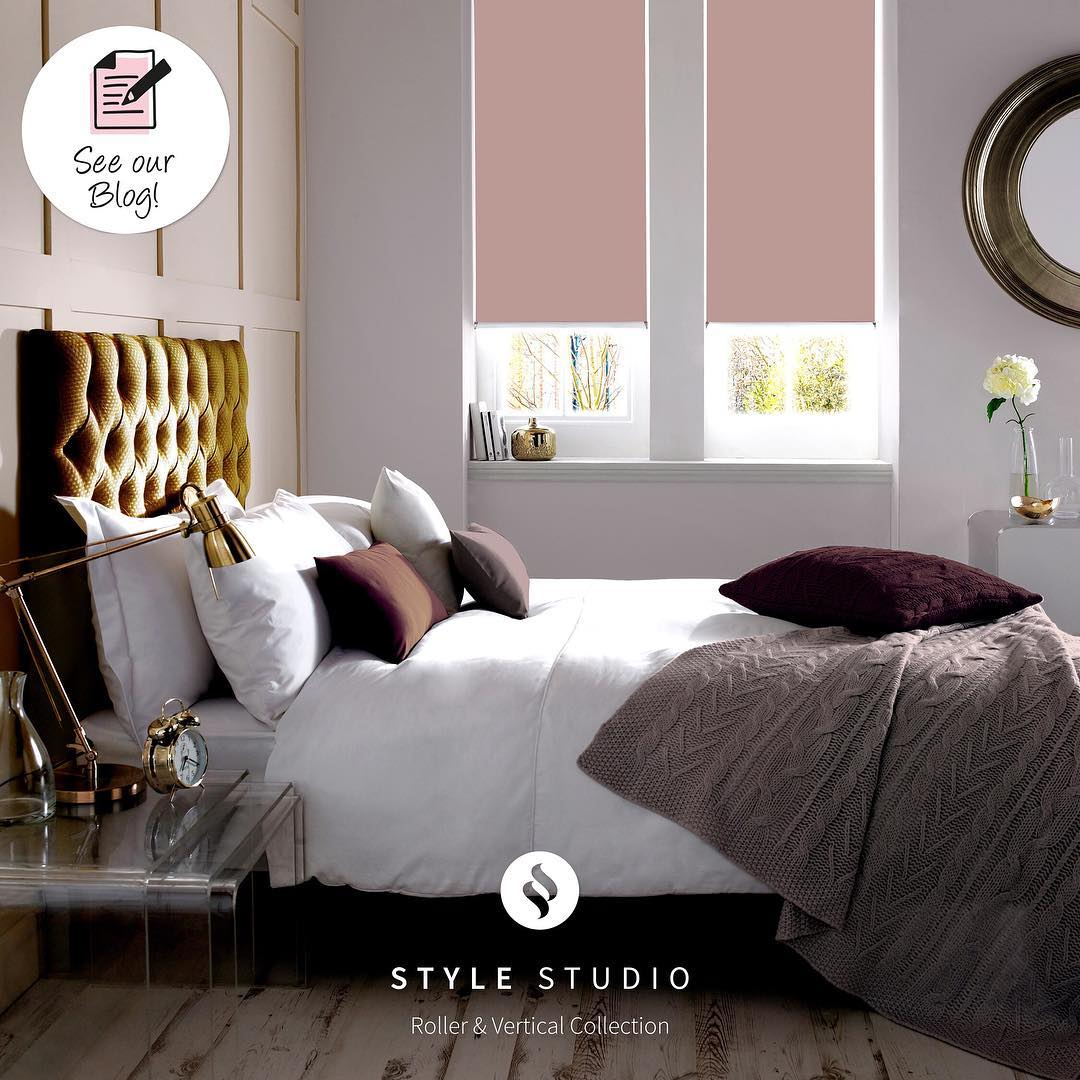 Stylish Contemporary Bedroom With Metallic Touch Interior