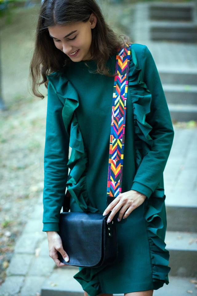 Swanky Turquoise Outfit For Fall