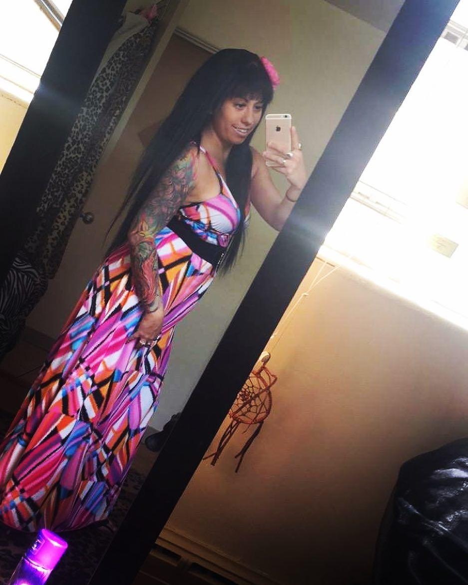 Vibrant Colorful Maxi Dress