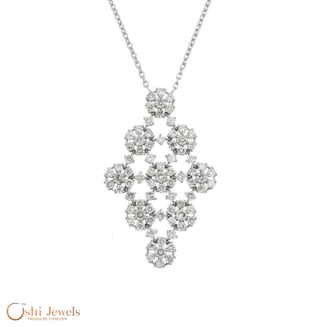 Adorable Round Cut Diamond Pendant
