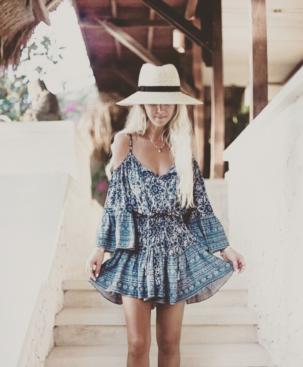 Boho Chic Summer Wear With Hat