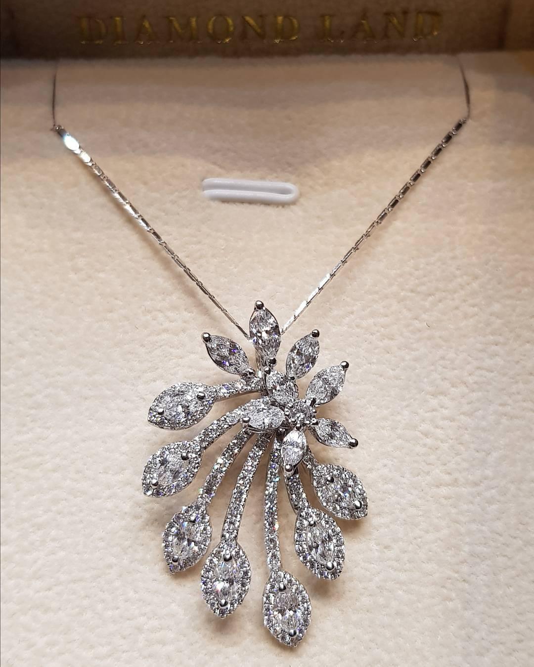 Classic Diamond Pendant With Chain