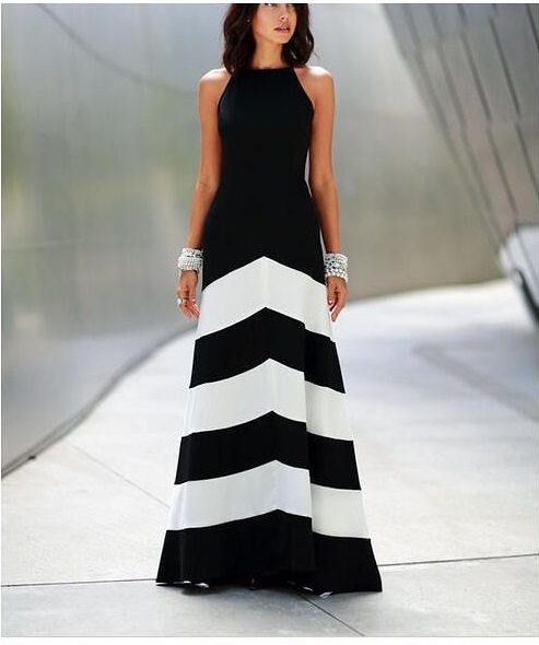 Exclusive Black & White Summer Party Outfit