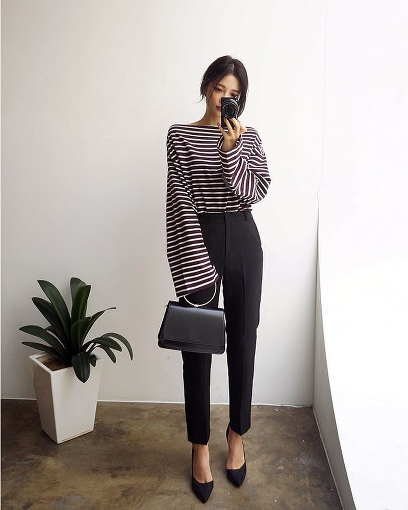 Fabulous Stripes Top With Trouser