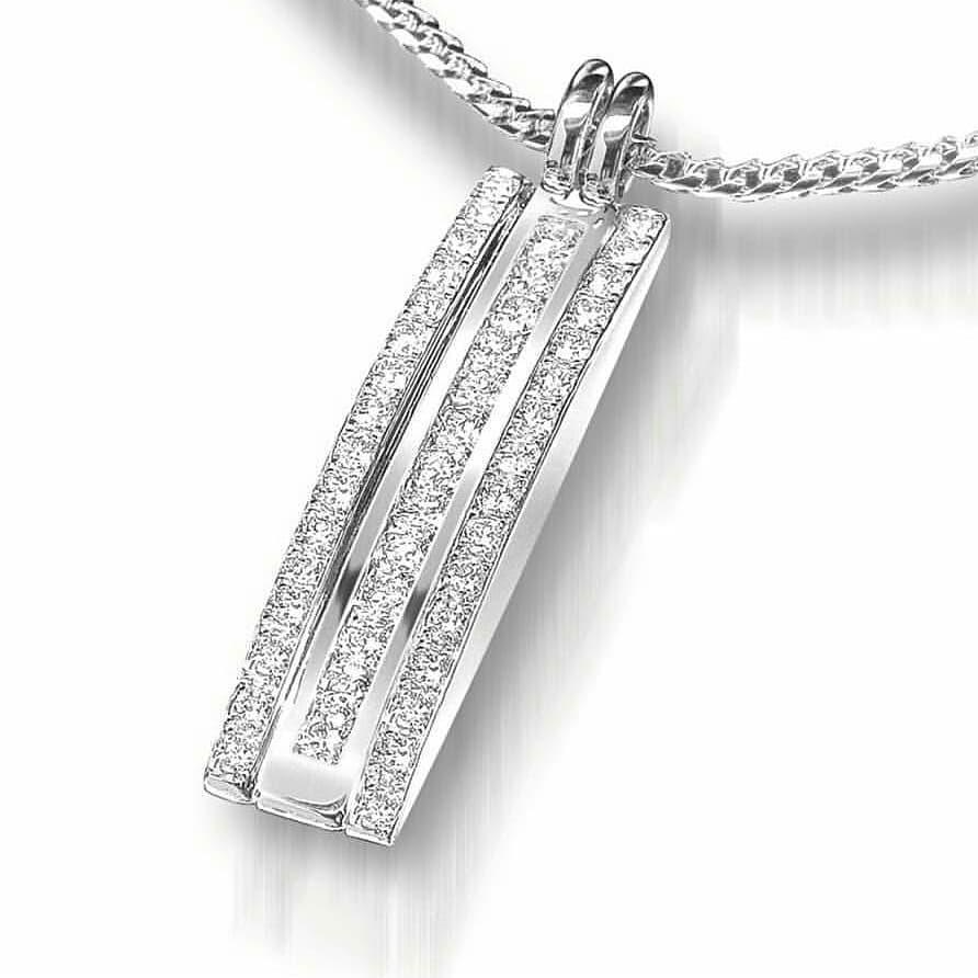 Glamorous Belgium Diamond Cut Pendant