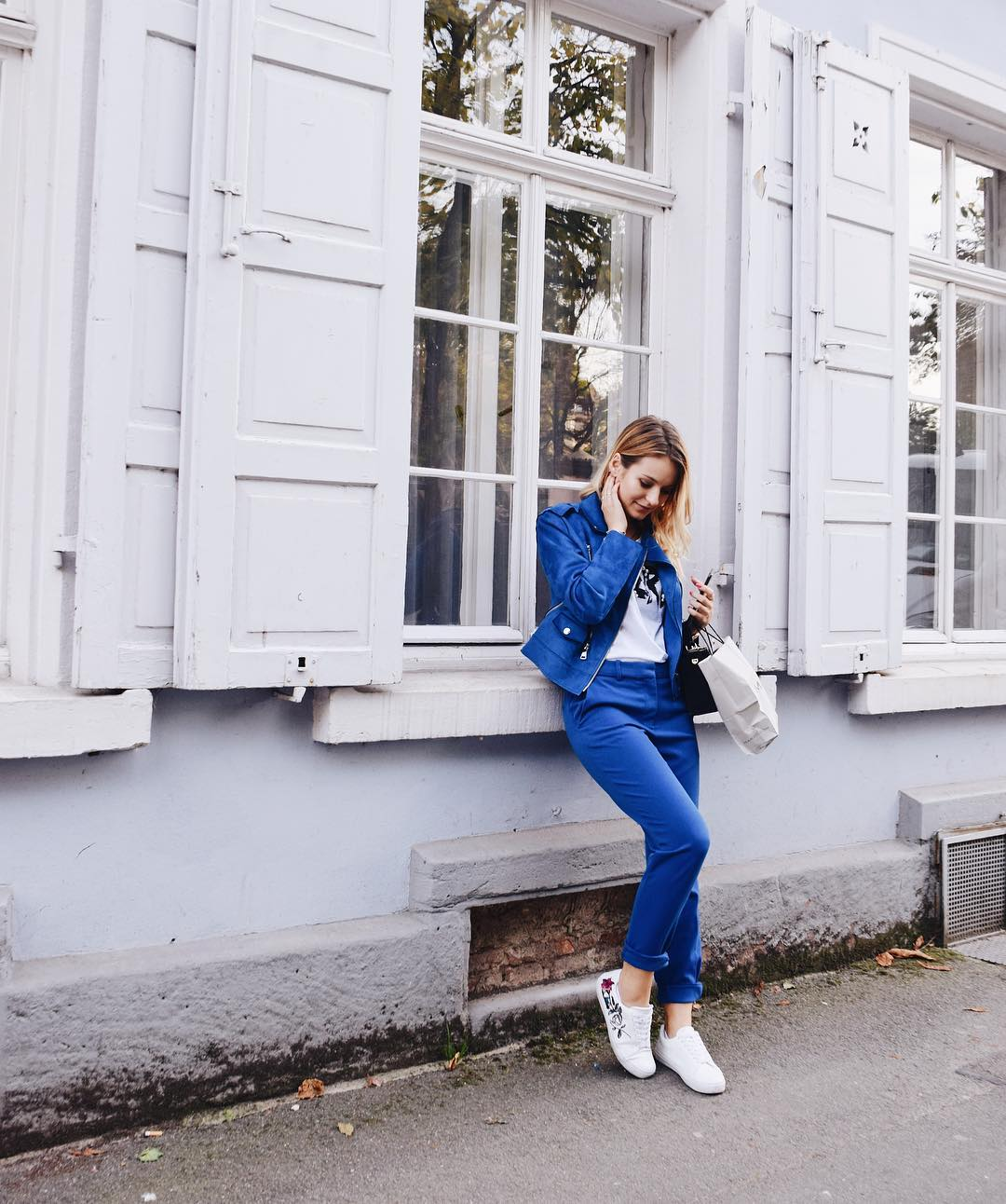 Nice Blue Pant With Jacket