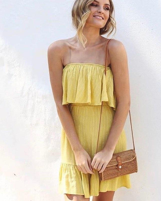 Simple Off Shoulder Boho Look Summer Fashion