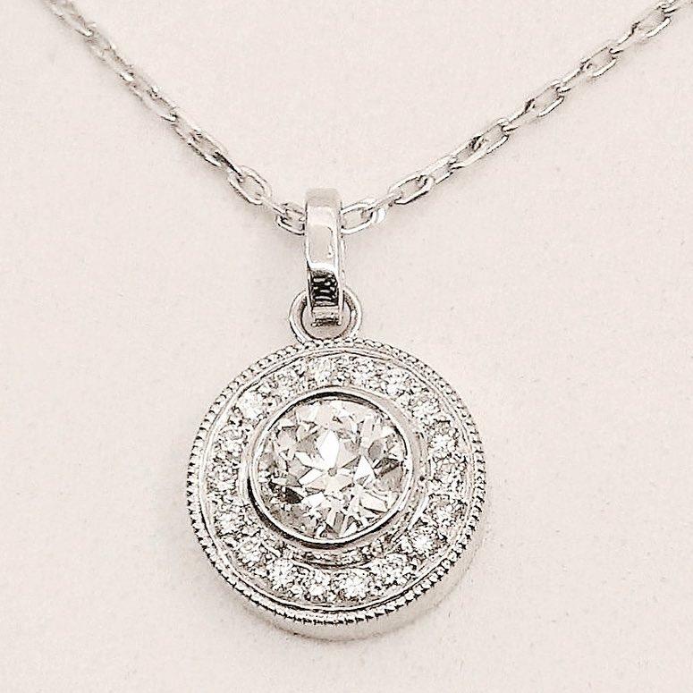 Stunning Diamond Pendant
