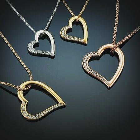 The Aurum Heart Pendant