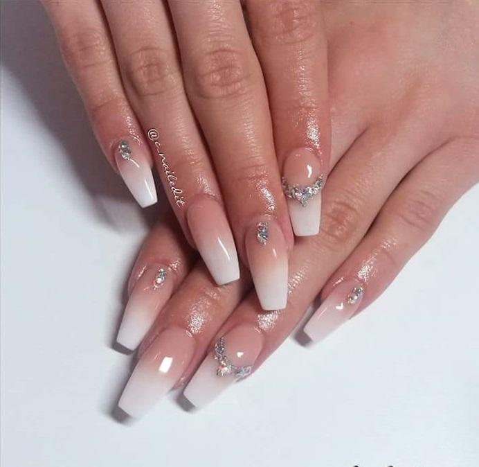 Fabulous One Stone Nails