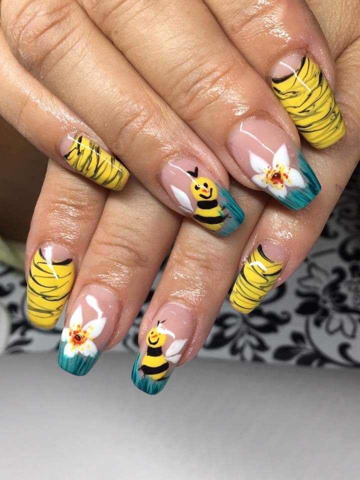 60+ Impressive French Nail Art Ideas For Summer