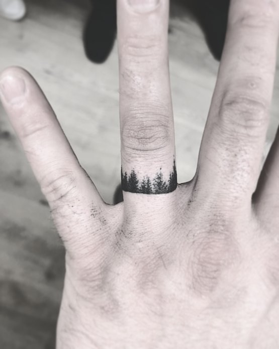 60 romantic ring finger tattoo ideas for Wedding ring tattoos cost