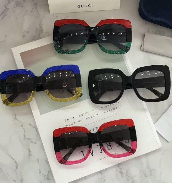 3de6b93b257 Colorful Gucci Sun Wear - Blurmark