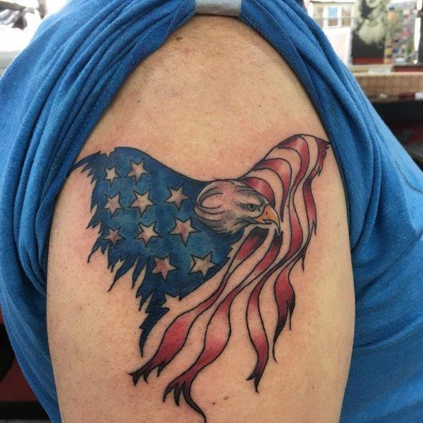 Patriotic Tattoos Black And White Archives Blurmark