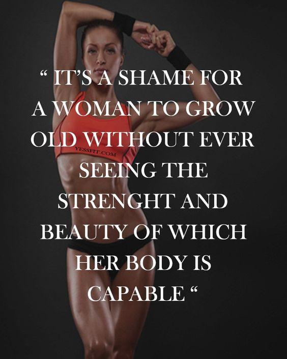 Female Fitness Motivational Quotes 40 Blurmark