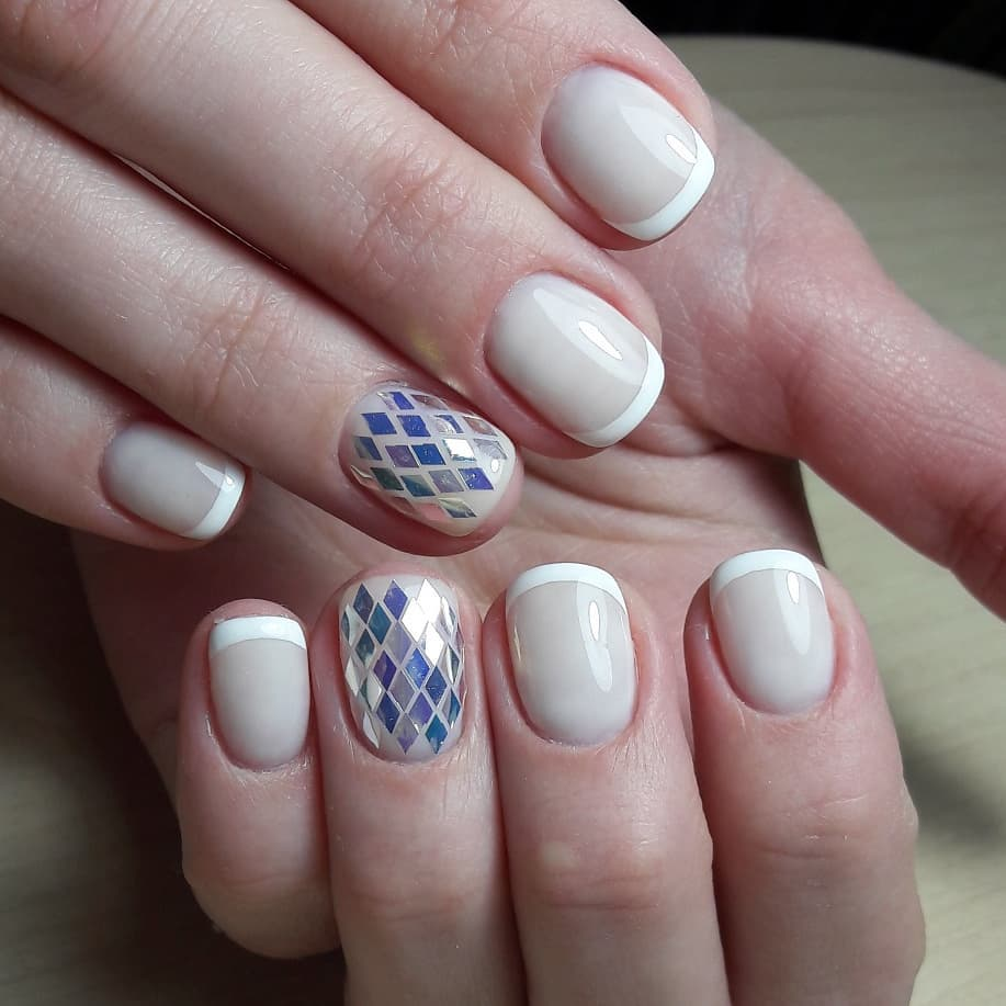 white french tip nail designs Archives - Blurmark