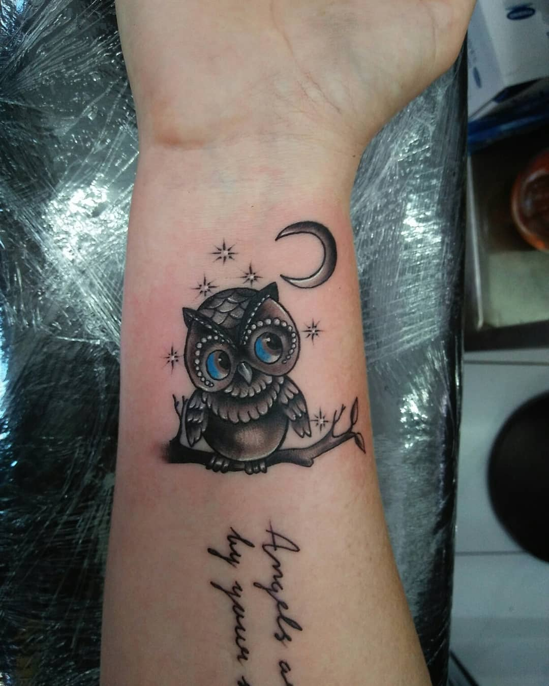 Owl Tattoos On Wrist: 55 High Recommended Owl Tattoo Design And Ideas