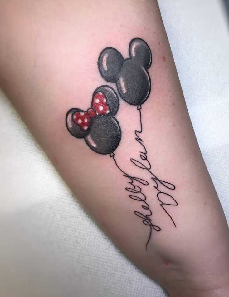 Exclusive Mickey And Minnie Mouse Tattoo Blurmark