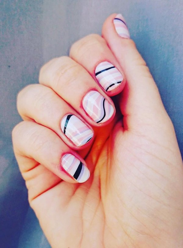 55 Easy Nail Art Design Ideas You Can Do It At Your Home Blurmark