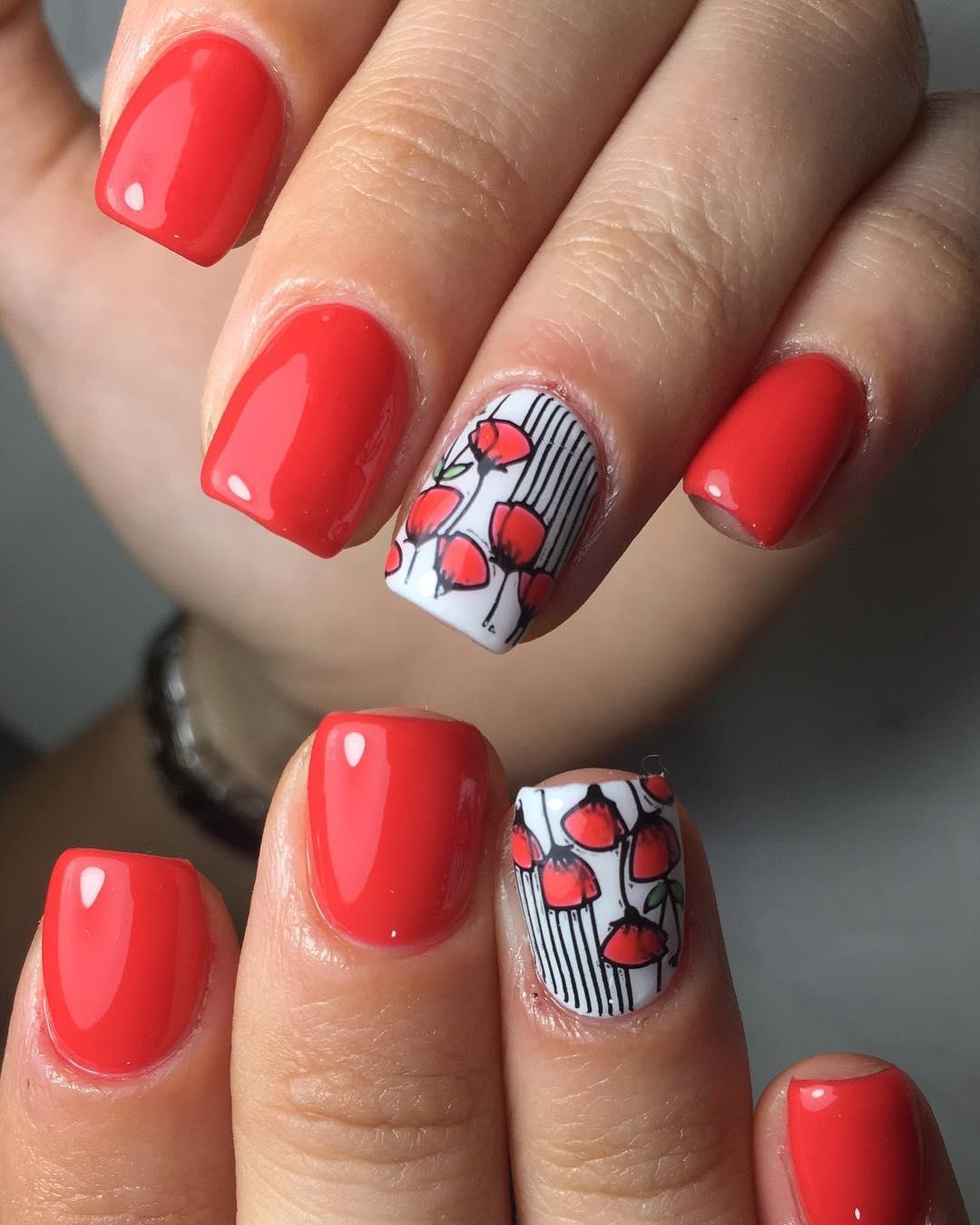45+ Gel Nail Design Ideas For Summer - Blurmark