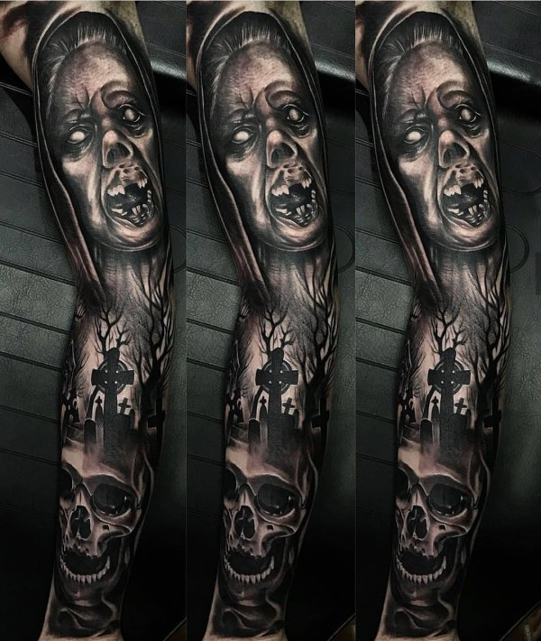 Bali Home Design Ideas: 40+ Creepy Tattoo Ideas You Can Try On This Halloween