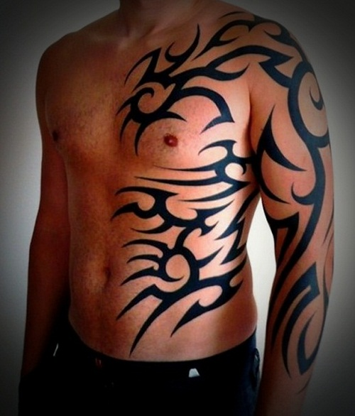 45 Insanely Awesome Tribal Tattoo Ideas For Men